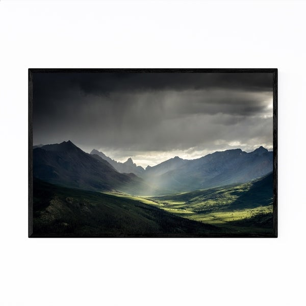Noir Gallery Tombstone Territorial Park Yukon Framed Art Print