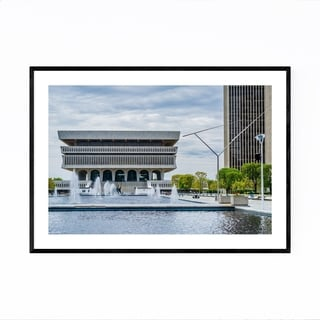 Noir Gallery Albany New York State Museum Framed Art Print