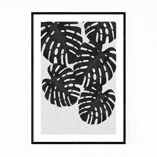 Noir Gallery Monstera Botanical Tropical Framed Art Print