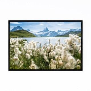 Noir Gallery Bachalpsee Lake Alps Switzerland Framed Art Print