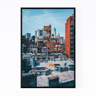 Noir Gallery New York NYC Graffiti Street Art Framed Art Print