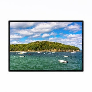 Noir Gallery Bar Harbor Acadia Maine Nature Framed Art Print
