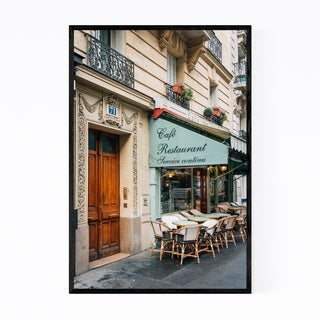Noir Gallery Cafe Montmartre Paris France Framed Art Print