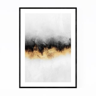 Noir Gallery Abstract Sky Watercolor Nature Framed Art Print