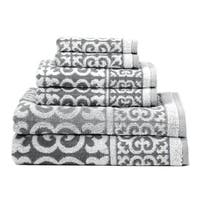 Arabesque 6-Piece Cotton Bath Towel Set