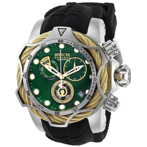Invicta Men's 27710 'Reserve' Venom Black Silicone Watch