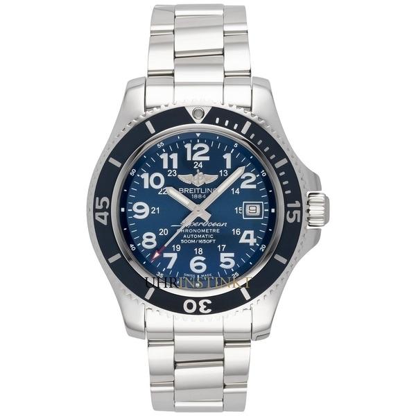 Breitling Men's A17365D1-C915-161A 'Superocean II 42' Stainless Steel Watch. Opens flyout.