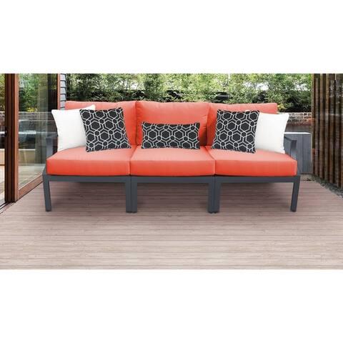 Lexington 3-piece Outdoor Aluminum Patio Furniture Set 03c