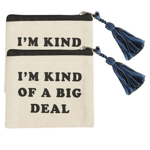 I'm Kind of a Big Deal Coin Pounches, Set of 2