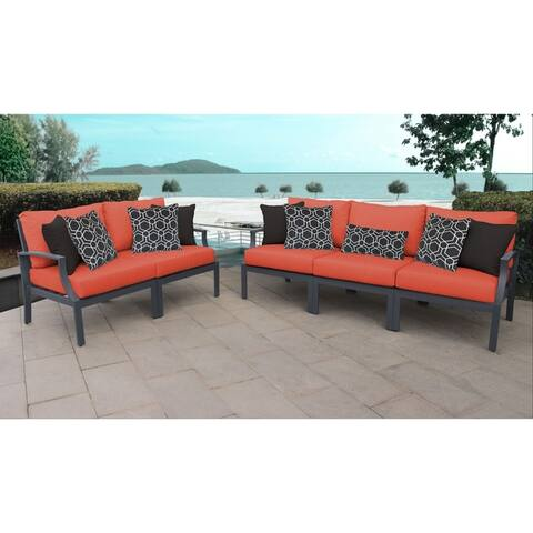 Moresby 5-piece Outdoor Aluminum Patio Furniture Set 05a by Havenside Home