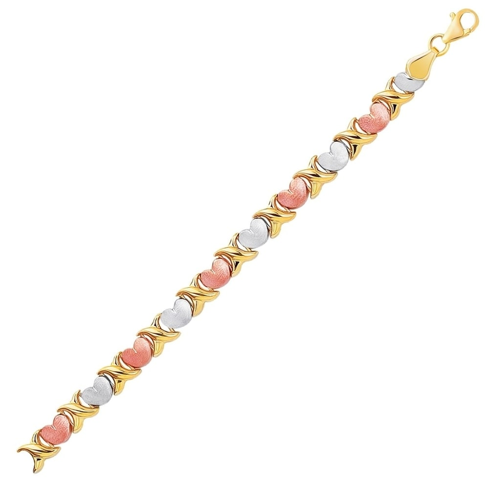 Coloured Metallic Zip Style Bracelet 4 Colours To Choose From