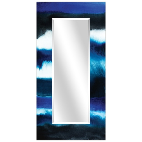 Rectangular Beveled Wall Mirror, Leaner,Large Mirror, Bathroom Mirror,Cheval Mirror,Ready to Hang - Clear