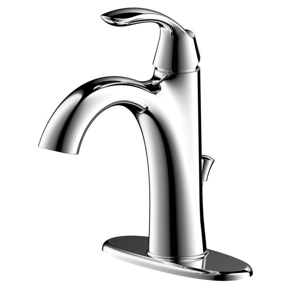 Arts et Metiers Single Handle Single-Hole Bathroom Faucet with Drain. Opens flyout.