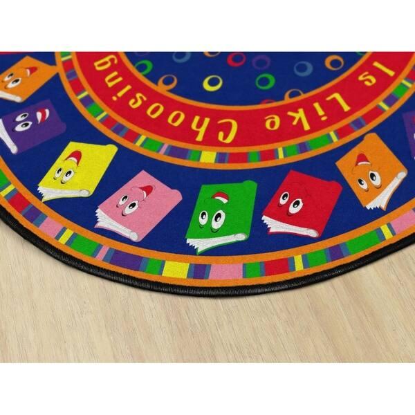 Kids Nylon Circle Time Books Bright
