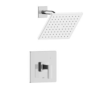 Link to Hotel de Ville Square Single Handle Shower Trim Set with Valve Similar Items in Faucets