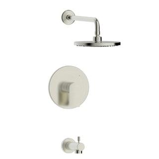 Pont Neuf Single Handle Tub and Shower Trim Set with Valve