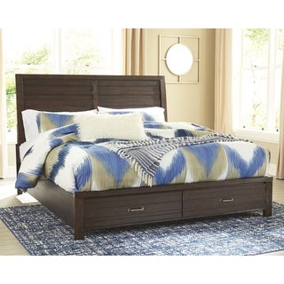 Darby Brown Panel Bed