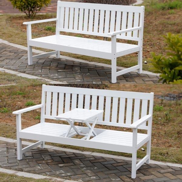Wooden Patio Garden Park Outdoor Bench