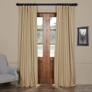 "Link to Exclusive Fabrics Ginger Bellino Blackout Curtain Panel 96"" (As Is Item) Similar Items in As Is"