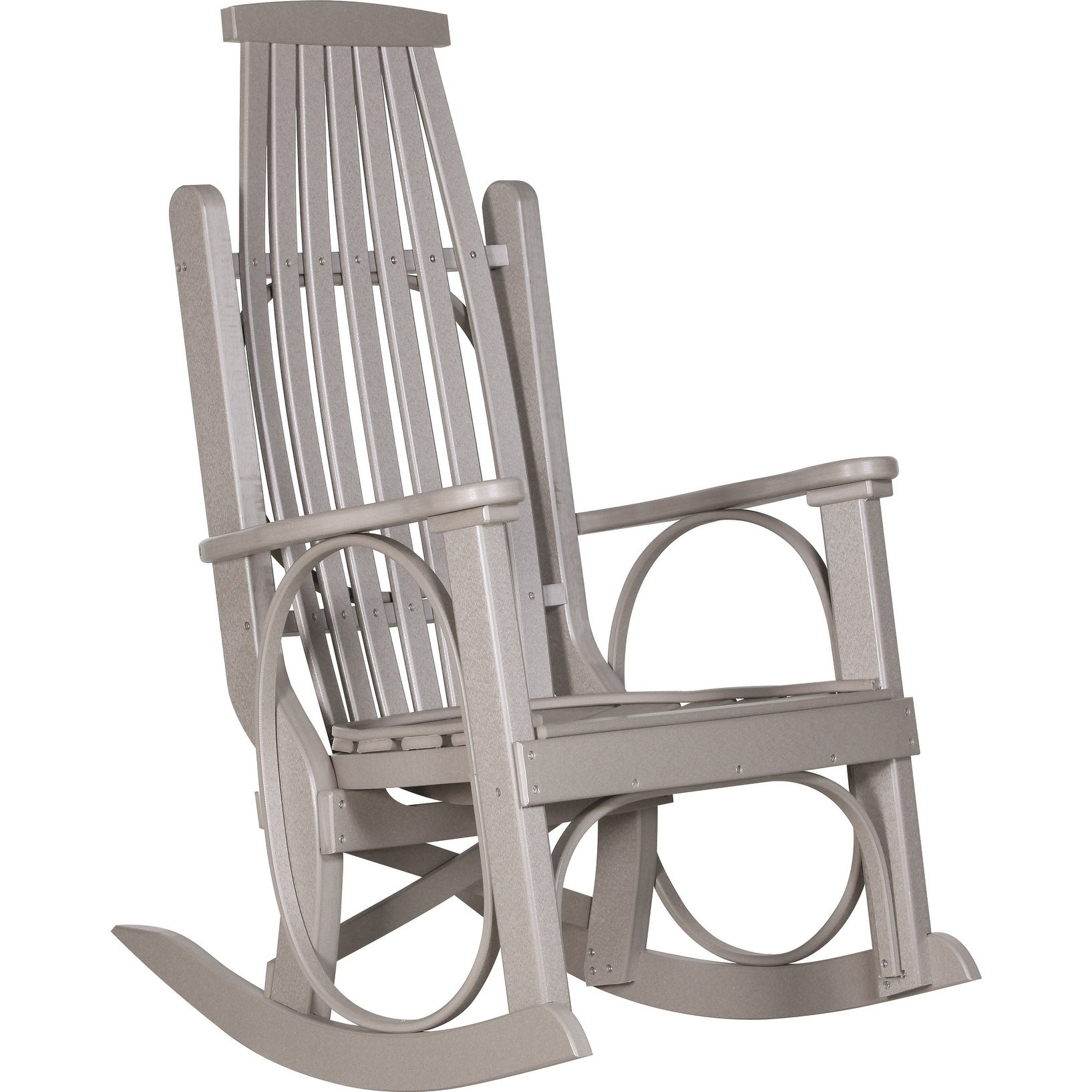 grandpa's outdoor rocking chair - recycled plastic