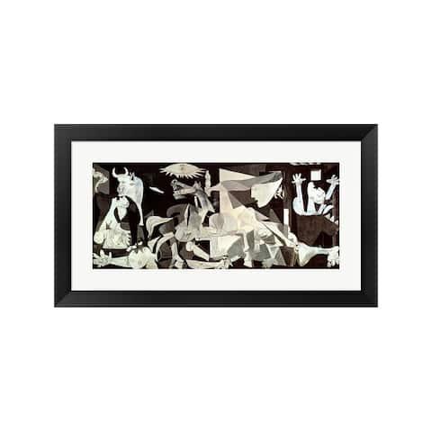 Pablo Picasso 'Guernica' Framed Art