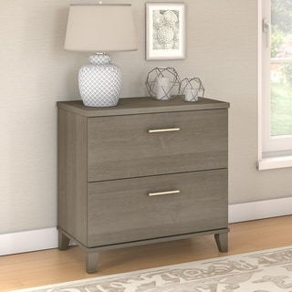 Copper Grove Shumen Lateral File Cabinet in Ash Gray