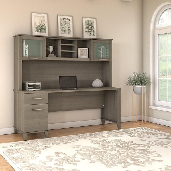 Shop Copper Grove Shumen 72-inch Office Desk With Hutch In