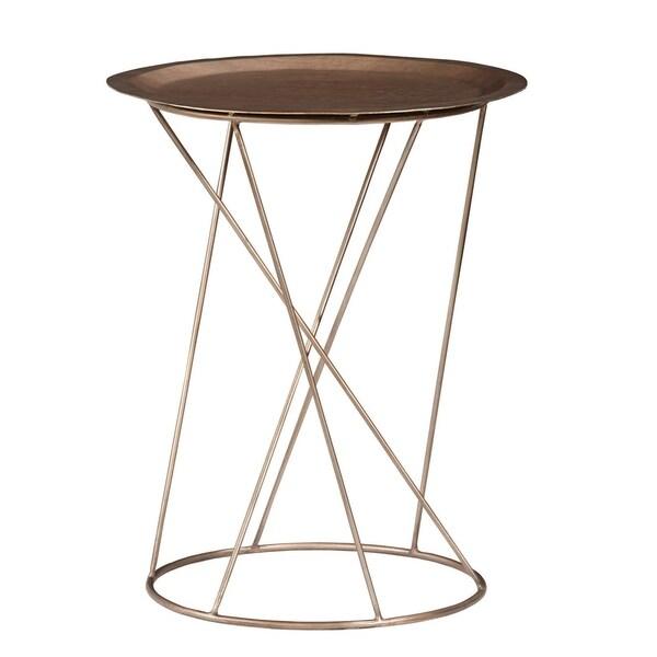 """Palliser Furniture, Daria 25"""" High End Table, Round"""