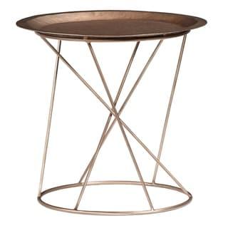 """Palliser Furniture, Daria 19"""" High End Table, Round"""