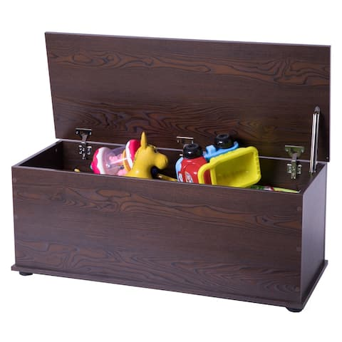 Wooden Storage Organizing Toy Box