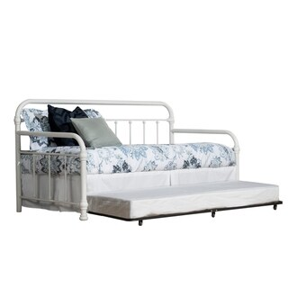 Copper Grove Dabnik White Twin Daybed with Trundle