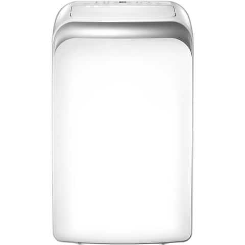 """Keystone Heat/Cool Portable Air Conditioner with """"Follow Me"""" LCD Remote Control for Rooms up to 205-Sq. Ft."""