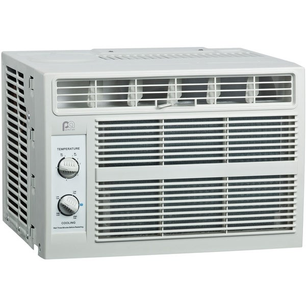 Perfect Aire 115V 5,000 BTU Window Air Conditioner with Mechanical Controls