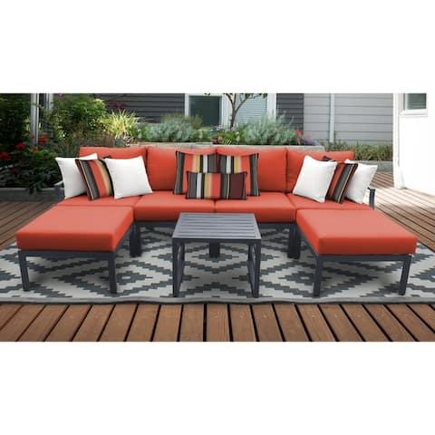 Lexington 7-piece Outdoor Aluminum Patio Furniture Set 07a