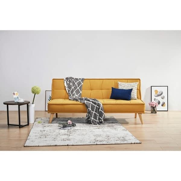 Shop Artdeco Home Anaheim Modern Convertible Sofa Futon ...