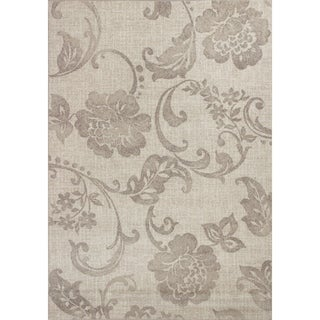 Domani Madison Grey Floral Area Rug