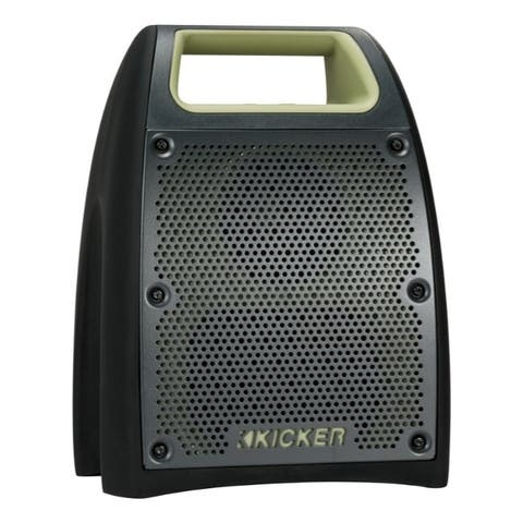 KICKER Bluetooth Portable Speakers 1 pk Wireless