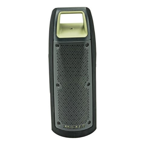 KICKER Wireless Bluetooth Portable Speakers 1 pk