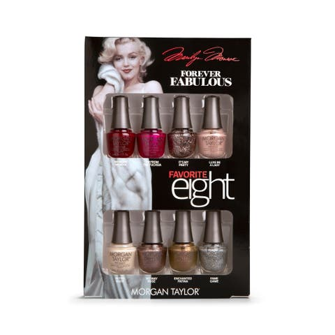 Morgan Taylor 8-piece Mini Nail Polish Kit Marilyn Monroe Favorites
