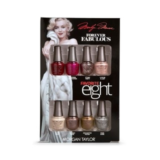 Morgan Taylor 8-piece Mini Nail Polish Kit Marilyn Monroe Favorites