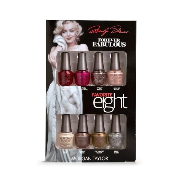 Morgan Taylor 8-piece Mini Nail Polish Kit Marilyn Monroe Favorites. Opens flyout.