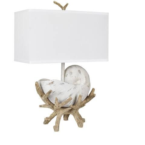 "Sleeping Shell 27"" Table Lamp"