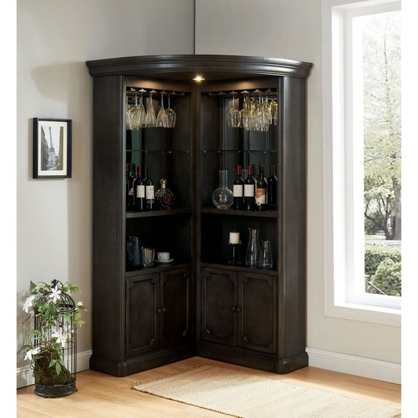 Copper Grove Groenlo Transitional Grey Curio Cabinet. Opens flyout.