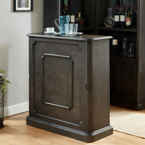 Copper Grove Groenlo Transitional Grey Standing Bar