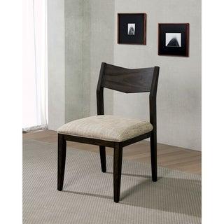 Carbon Loft Sandow Dark Walnut Side Chairs (Set of 2)