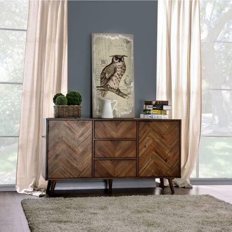 Carbon Loft Dorminey Contemporary 60-inch Light Oak Server