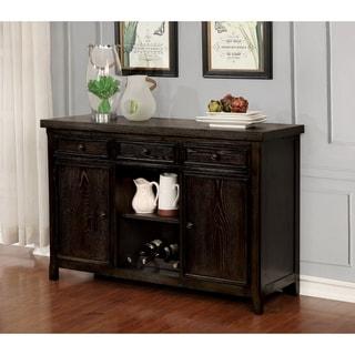 Link to Copper Grove Sachkhere Dark Walnut 54.75-inch Server Similar Items in Dining Room & Bar Furniture