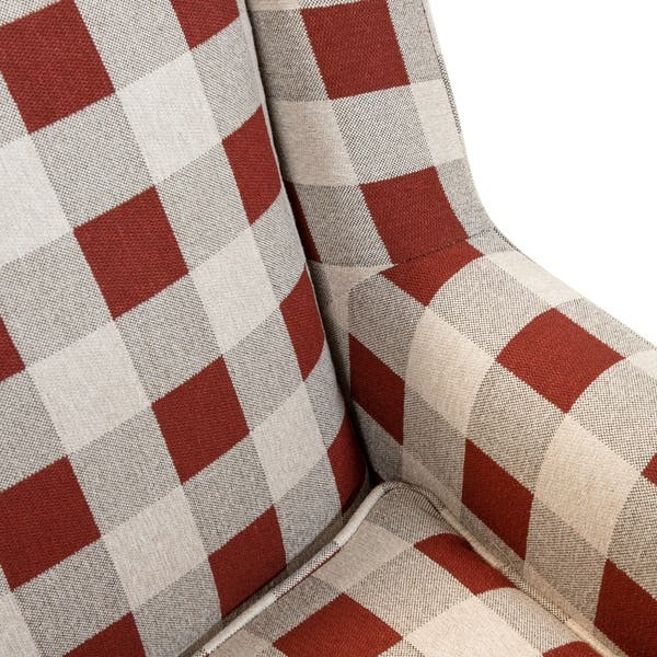 Stupendous Shop The Gray Barn Winding Oleander Transitional Red Plaid Gmtry Best Dining Table And Chair Ideas Images Gmtryco