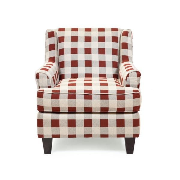 Awe Inspiring Shop The Gray Barn Winding Oleander Transitional Red Plaid Gmtry Best Dining Table And Chair Ideas Images Gmtryco