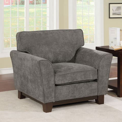 Copper Grove Tsageri Contemporary Grey Chair